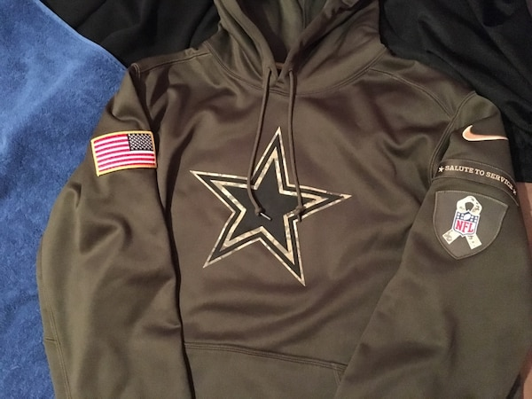 the latest eef8c b52c4 Dallas Cowboys Nike Salute to service hoodie