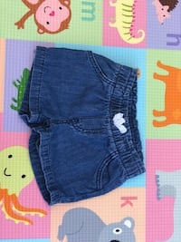 blue denim short shorts screenshot Monterey Park, 91755