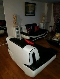 white and black massage chair Toronto, M9M 1W5