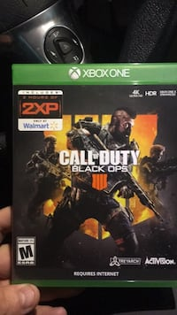 NEW - Unopened Call of Duty Black Ops 4 w/2xp code Livonia, 48152