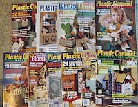 11 Plastic Canvas Pattern Magazines $2 for ALL