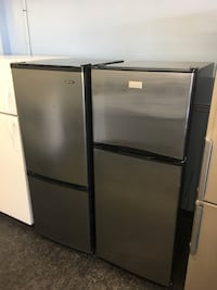 black and gray top-mount refrigerator Toronto, M3J 3K7