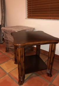 Tropical Style Living Room End Tables  Lake Worth