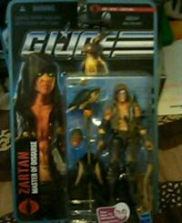 G.I. Joe no.1010 Zartan *MINT Fairfield