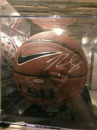 Ben Simmons Signed Ball Ridge, 11961