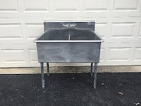 Industrial Stainless Steel Sink 38 km