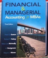 Financial & Managerial Accounting for MBAs San Francisco, 94128