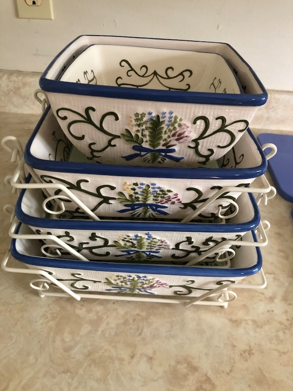 Temptations ovenware dishes