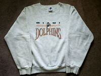 Miami dolphins crewneck sweater