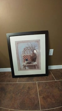 painting of duck and vase in chair Edmonton, T5Y 3B3