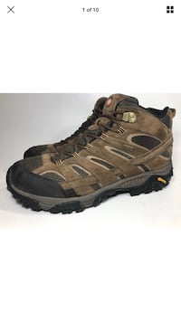 Merrell Men's Moab 2 Mid Waterproof Earth Size  [TL_HIDDEN]  ((a26 Dixmoor, 60406