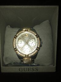 Guess gold watch Brampton, L6S 3M2