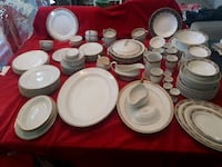 white ceramic plates and cups Gatineau, J9J 3X7