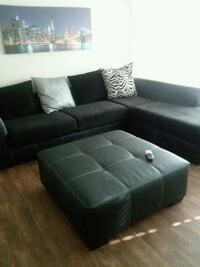 black and white sectional couch Atlanta, 30349