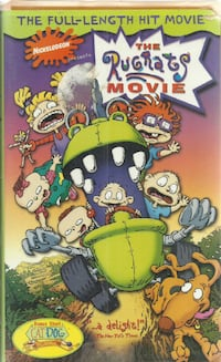 Rugrats The Movie VHS   (Ref # plastroll/eb/apps) Newmarket