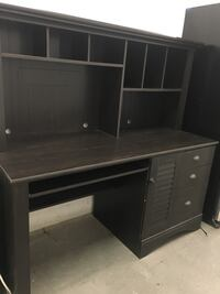 Desk with hutch -almost brand new