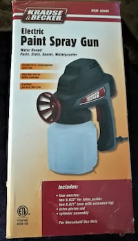 Paint Spray Gun Electric--KRAUSE