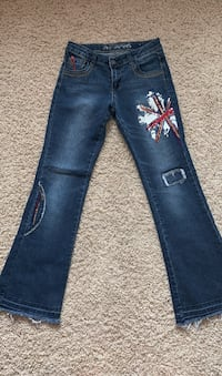 Total girl jeans size 12