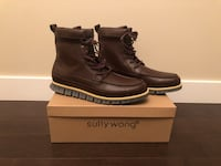 BRAND NEW- Men's SULLY WONG boots  size 11 Calgary, T3J