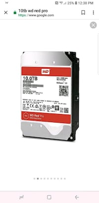 WD 10tb red Nas pro hard drives Coon Rapids
