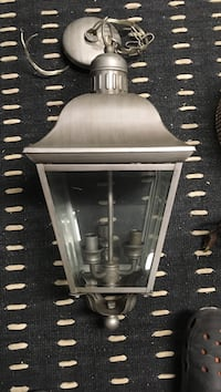 Gray and clear glass sconce Шовиниган, G9T