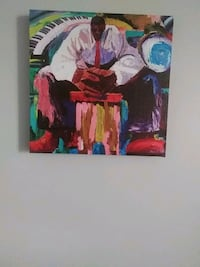 man in white dress shirt and red necktie painting Opa-locka, 33054