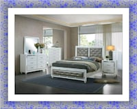11pc Mackenzie bedroom set free mattress and deliv McLean