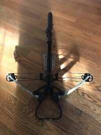 Centerpoint specialist xl crossbow 370 fps. Comes with arrows, cocking rope, quiver and sling Quinte West, K8V