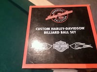 Harley-Davidson pool bar ball set Wyoming