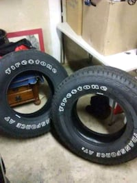 Pair of Firestone Transforce AT2 Tires LT  [TL_HIDDEN] 18R Des Moines, 50313