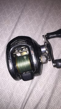 black and gray fishing reel Melbourne Beach, 32951