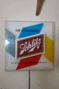 Schlitz beer sign Oklahoma City