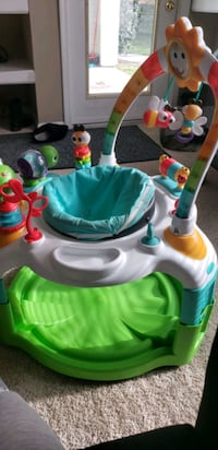 2n1 activity gym and saucer