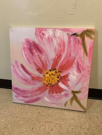 Pink wall canvas