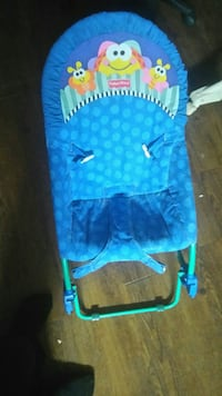 baby's blue and green bouncer Orillia, L3V