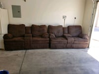 4 recliners with cup holders Las Vegas