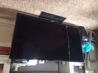 55 inch flat screen TV with remote 194 mi