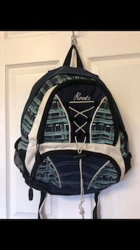 Roots Navy Blue Backpack Aurora, L4G 2T7