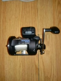 black and gray fishing reel Homer, 49245