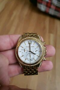 round gold Michael Kors chronograph watch with gol Chattanooga, 37421