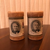 Edison Gold Moulded Records Cylinders Echo All Over The World Markham, L3T 3L4