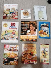 9 Cooking books Newmarket, L3X 3K6