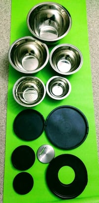 Stainless Steel Mixing Bowl Set with Lids Ellicott City