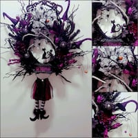 "18"" Grapevine Halloween Wreath  Toronto, M1K 5E1"