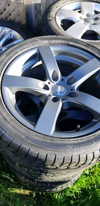 Set of 4 Rims with Tires Airdrie, T4B 2V7