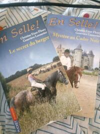 Lot de 2 livres En selle Tome 15 et 18 Saint-Domineuc, 35190