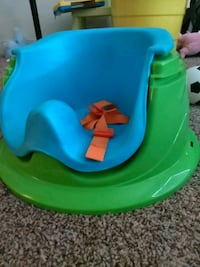 baby's green and blue floor seat Stockton, 95212