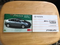 Toyota prius 2005 owners manual and supplement