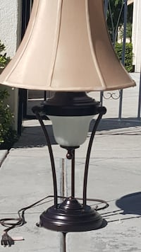 Rubbed Bronze Table Lamp