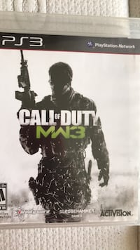 Call of Duty MW3 Xbox 360 game case North Vancouver, V7L